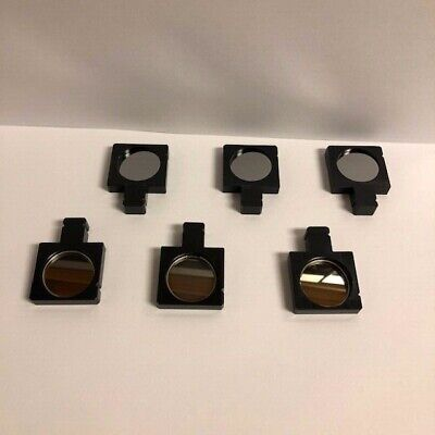 Olympus Japan Filter With Holder For Microscope 6 Each