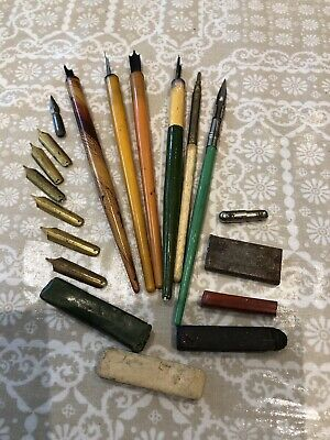 Vintage Writing Quill Job Lot