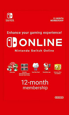Nintendo Switch Online 12 Monate/Months (Family Invite) Mai/May 2021 !!