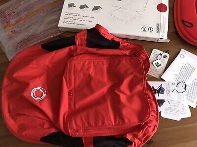 Bugaboo Fox / Cameleon 3 Neon Red Breezy Sun Canopy Excellent Condition