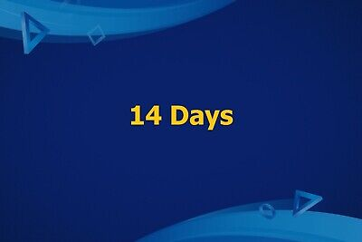 Ps Plus 14 Days Trail - Ps4 - Ps3 -Ps Vita Playstation