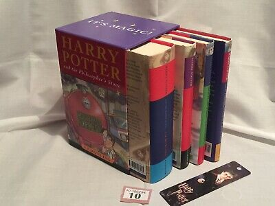 Harry Potter (Bloombuy Box-Set) Mixed Editions – Plus Free Book-Mark - Lot10