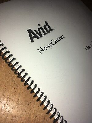 AVID NewsCutter User Training Adrenaline FX News Cutter XP 6.5 Guide Manual
