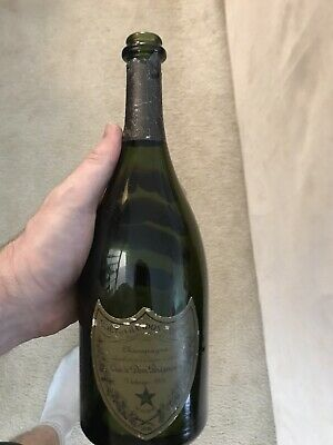 Empty Vintage Dom Perignon 1978 Bottle Only