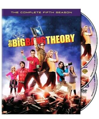 The Big Bang Theory: The Complete Fifth Season 5 (DVD 3-Disc Set) Free Shipping!