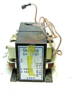 Gardner's High Voltage Microwave Transformer, For Magnatron Type 2M172Ah.