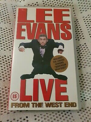 Lee Evans-Live From The West End (VHS 1995)