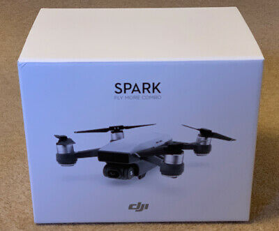 DJI Spark Fly More Combo - Excellent Condition - Boxed With Tags