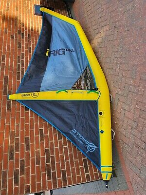Arrow iRIG Inflatable Windsurfing Sail 2019 Size Large Perfect Condition
