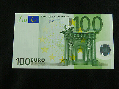 €100 / 100 Euro Banknote Issued 2002 ..... S prefix