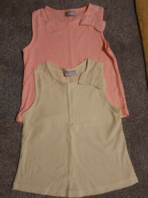 Set of 2, Girls 6yrs Vest Tops from Matalan