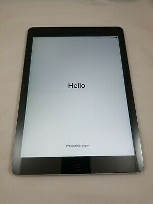 Apple iPad Air 1st Generation 32GB A1474, WiFi, 9.7in Space Gray Grade A - LOOK!