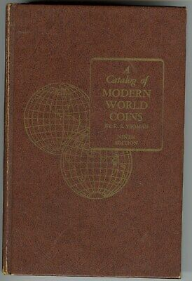CATALOG OF MODERN WORLD COINS by YEOMAN, 9th ED. 1970, 512pp WITH ILLUSTRATIONS!