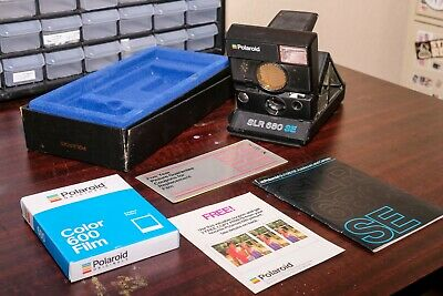 """Polaroid SLR 680 SE, """"Frog Tongue"""" & Fresh Film *TESTED AND WORKS GREAT!*"""