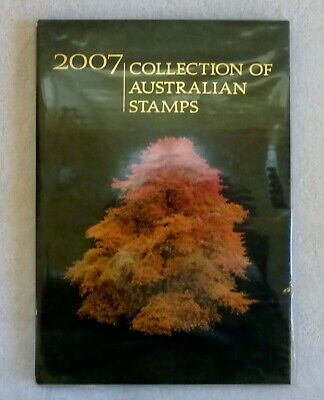 NEW - Collection of 2007 Australian Post Year Book Album with Stamps - Deluxe