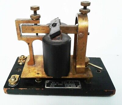 Western Electric 15B Telegraph Sounder