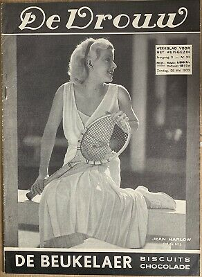 Jean Harlow French Magazine 1933