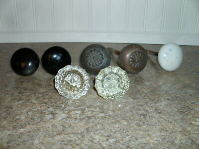 Original Vintage Door Knobs ~ GLASS ~ BRASS ~ CERAMIC ~