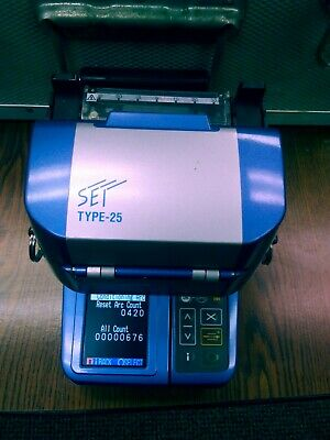 Sumitomo Type-25S SM MM Fiber Fusion Splicer (Mint Condition) barely Used