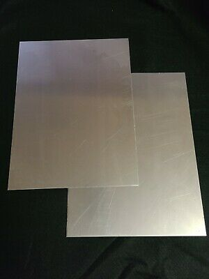 12 Gauge Mild Steel Sheet Metal Plate 9x12 inches   .105 Thick    2PC