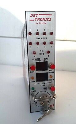 DET Tronics R7404 B7003 flame detection system UV controller new