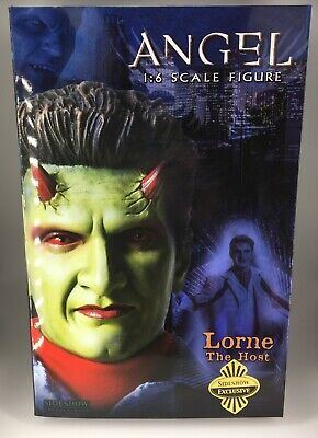 "Buffy the Vampire Slayer Angel Sideshow 12"" Lorne The Host Variant New in Box"