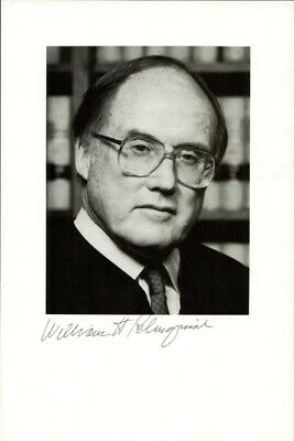 William H. Rehnquist - Autographed Signed Photograph
