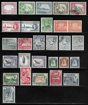 Lot of Old Stamps - ADEN . . . . . . . some betters issues!
