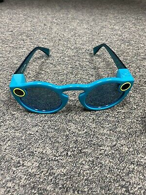 Snap Inc. Spectacles Snapchat Camera Sunglasses - Teal - Used