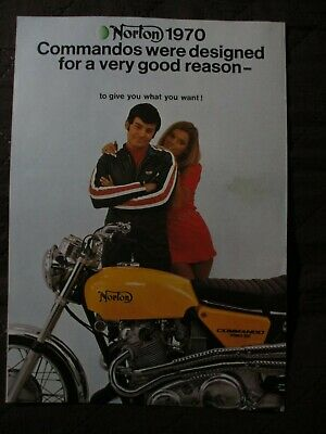 Norton Original 1970 Factory Literature