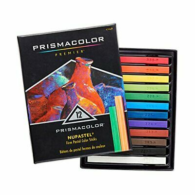 PRISMACOLOR NUPASTEL Oil Pastel, Pastel Colour (12 Pack|Standard Packaging)