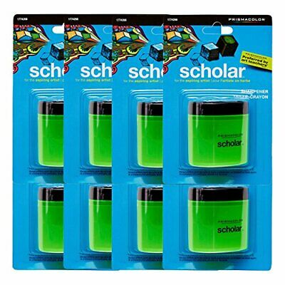 Prismacolor Scholar Pencil Sharpener, 8 Count