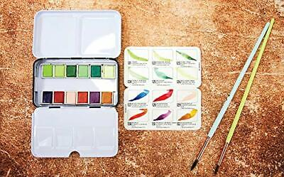 Prima Marketing 639785 Prima Confections Watercolor Pans 12/Pkg-Terrain,