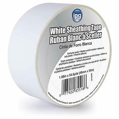 Intertape Polymer Group 5518USW Ipg Contractors Grade Sheathing Tape, (White)