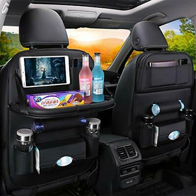 1Pc Car Backseat Storage Organizer with Tablet Holder and (Black with Tablet)