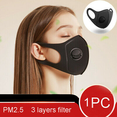 Reusable Face Mouth Covering Washable PM2.5 Anti Dust Respirator Protection