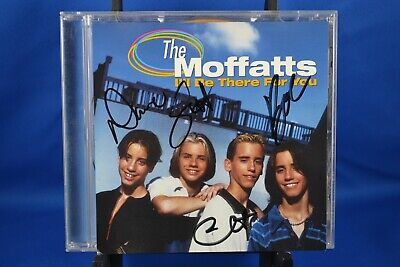 The Moffatts I'll Be There For You 1998 CD Single  Signed Autographed by All