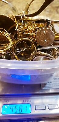 458.1 Grams 14K 12K 10K Gold Filled/Plate Jewelry Lot