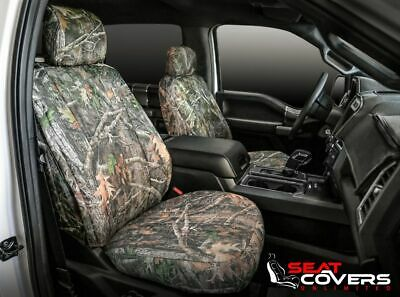 Custom Fit Seat Cover for Honda Ridgeline In True Timber Front & Rear
