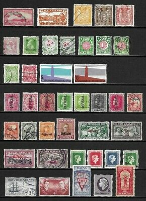 Lot of Old BOB Issue Stamps from New Zealand . . . . . . 3 pages