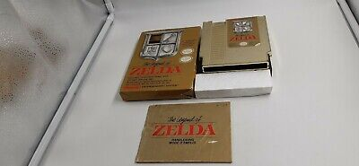Jeu Nintendo NES The Legend of Zelda en boite et notice