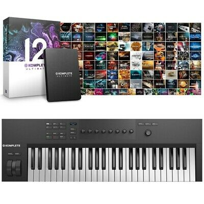 Native Instruments Komplete Kontrol A49 con Komplete 12 Ultimate