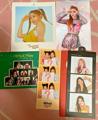 Twice Misc Album Inclusions *Read Description*