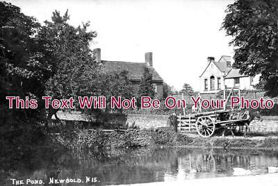 DR 1171 - View Of The Pond, Newbold, Chesterfield, Derbyshire c1908
