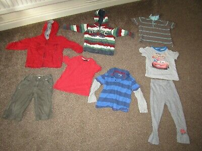 Boys clothing bundle ages 2-3 years, includes Next, Pumpkin Patch & John Lewis