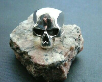 Sterling Silver Skull Ring from Japan by DICE, Similar to Great Frog Crazy Pig