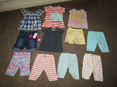 Girls summer clothing bundle 4-5 years, includes Next and brand new denim shorts
