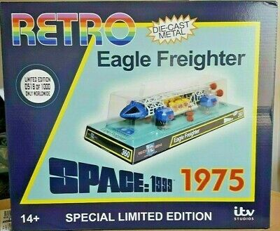 "Sixteen 12 Space 1999 Eagle Freighter Dinky Retro 12"" Replica No.189SI10"