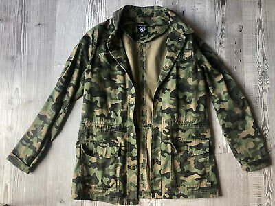 Girls lightweight Camo Jacket NEW LOOK 915 Generation Age 14-15 Yrs
