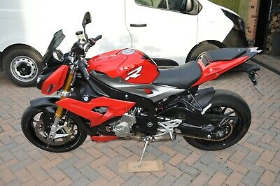 BMW S1000R 1014 in Red with 16,750 miles.